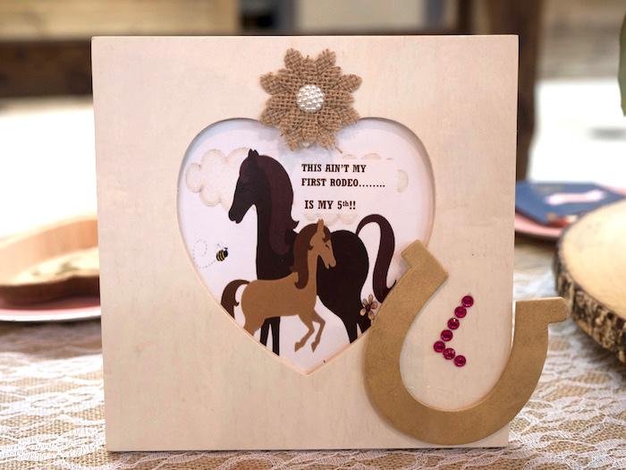 Horse Ranch Cowgirl Birthday Party on Kara's Party Ideas | KarasPartyIdeas.com (31)