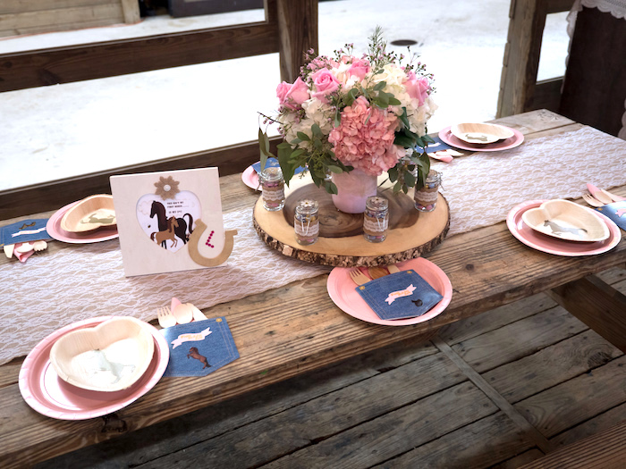 Horse Ranch Cowgirl Birthday Party on Kara's Party Ideas | KarasPartyIdeas.com (30)