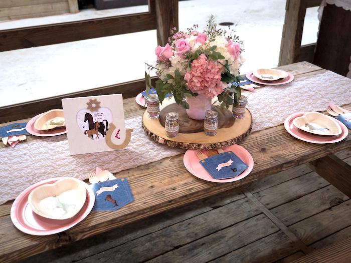 Horse Ranch Cowgirl Birthday Party on Kara's Party Ideas | KarasPartyIdeas.com (30)
