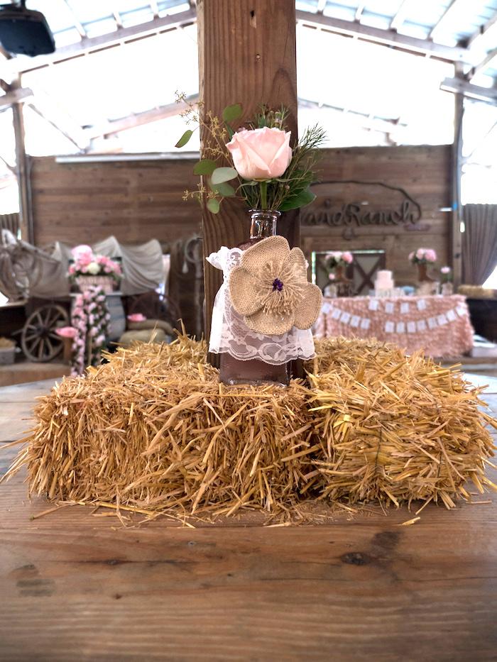 Horse Ranch Cowgirl Birthday Party on Kara's Party Ideas | KarasPartyIdeas.com (28)