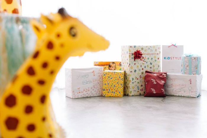 Gifts from a Little Giraffe Birthday Party on Kara's Party Ideas | KarasPartyIdeas.com (11)