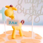 Little Giraffe Birthday Party on Kara's Party Ideas | KarasPartyIdeas.com (2)