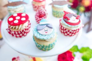 Little Red's Gramma Cupcake Topper from a Little Red Riding Hood Birthday Party on Kara's Party Ideas | KarasPartyIdeas.com (36)