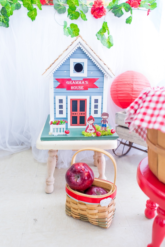 Gramma's House from a Little Red Riding Hood Birthday Party on Kara's Party Ideas | KarasPartyIdeas.com (27)