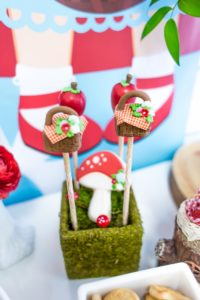 Cake pops from a Little Red Riding Hood Birthday Party on Kara's Party Ideas | KarasPartyIdeas.com (25)