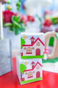 Grandma's House Favor Boxes from a Little Red Riding Hood Birthday Party on Kara's Party Ideas | KarasPartyIdeas.com (17)