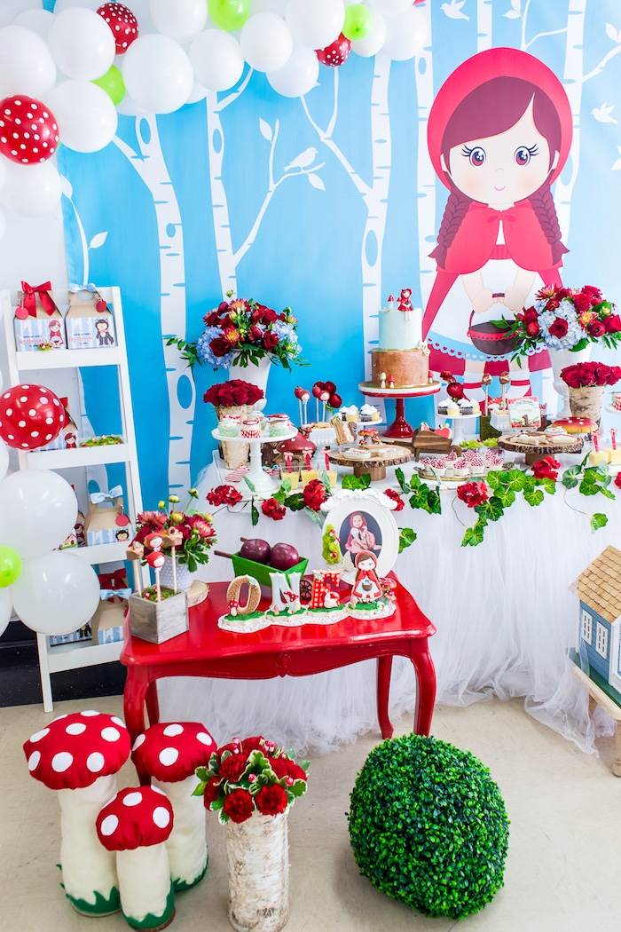 Little Red Riding Hood Birthday Party on Kara's Party Ideas | KarasPartyIdeas.com (10)