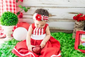 Little Red from a Little Red Riding Hood Birthday Party on Kara's Party Ideas | KarasPartyIdeas.com (4)