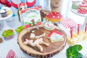 Cookies from a Little Red Riding Hood Birthday Party on Kara's Party Ideas | KarasPartyIdeas.com (43)