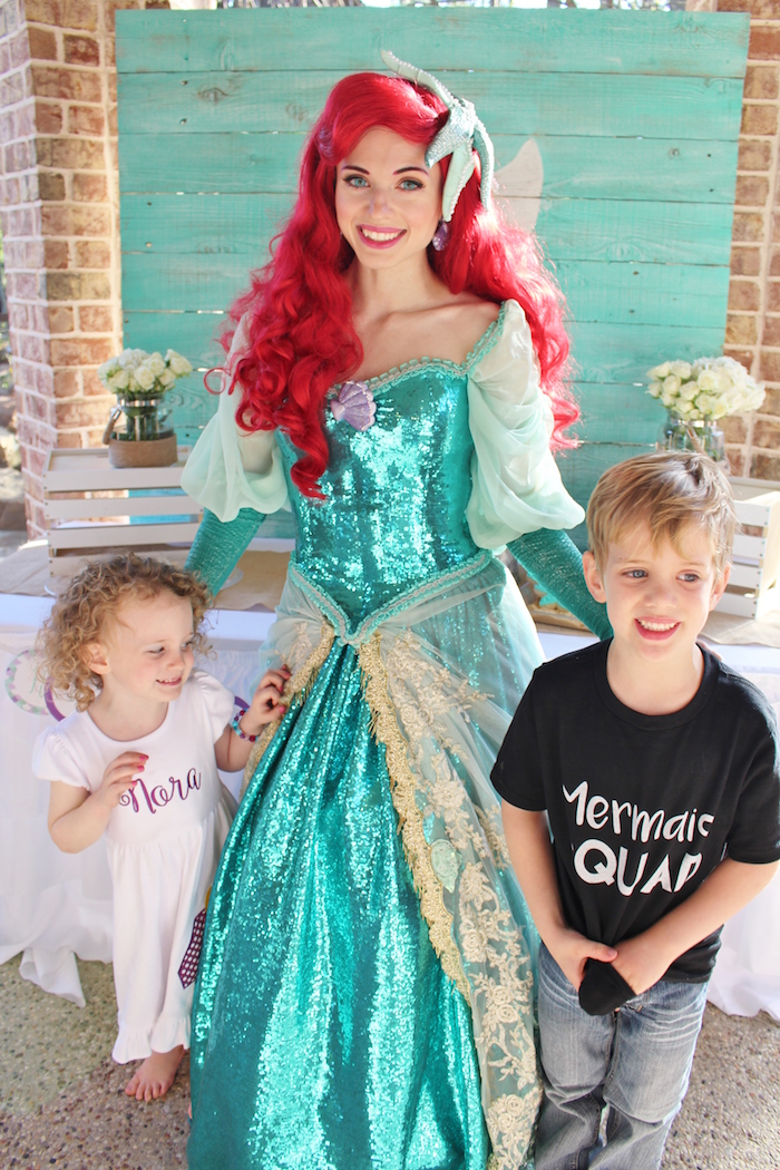 Magical Mermaid Birthday Party on Kara's Party Ideas | KarasPartyIdeas.com (14)
