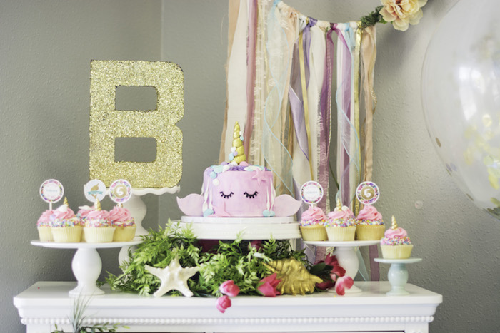 Kara S Party Ideas Magical Narwhal Quot Unicorn Of The Sea