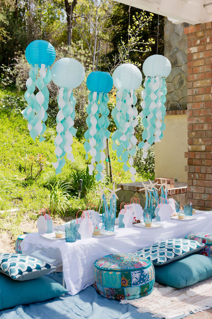 Make a Splash Mermaid Birthday Party on Kara's Party Ideas | KarasPartyIdeas.com (25)