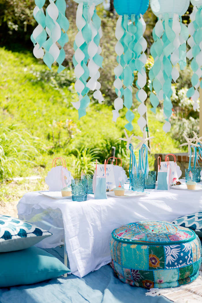 Make a Splash Mermaid Birthday Party on Kara's Party Ideas | KarasPartyIdeas.com (5)