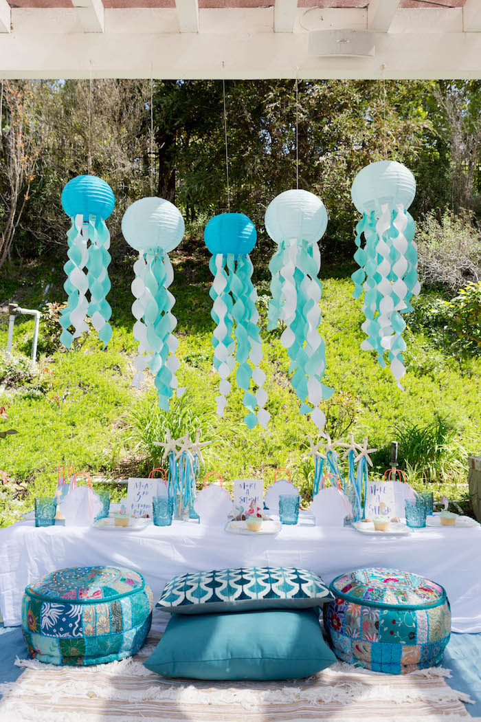 Make a Splash Mermaid Birthday Party on Kara's Party Ideas | KarasPartyIdeas.com (23)