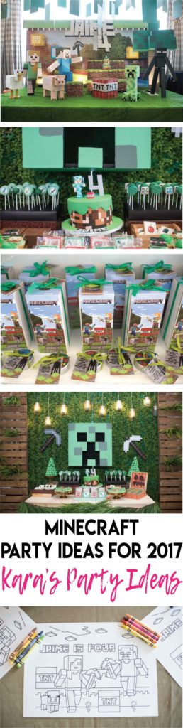 Minecraft party ideas