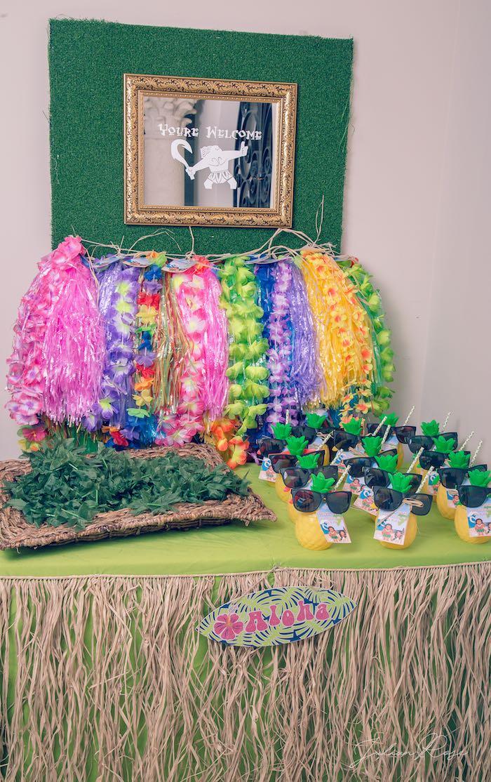 Moana Birthday Party on Kara's Party Ideas | KarasPartyIdeas.com (1)