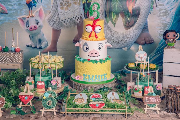 Kara S Party Ideas Perfect Moana Birthday Party Kara S