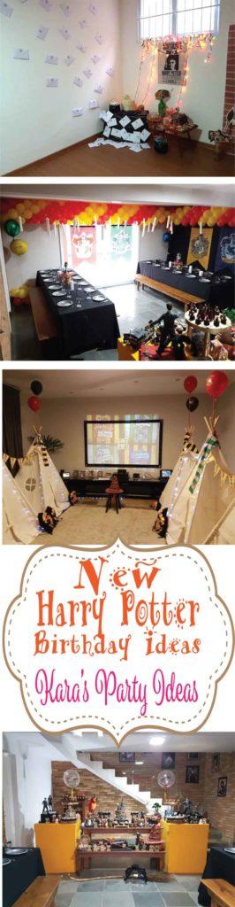 New Harry Potter Party Ideas via Kara's Party Ideas