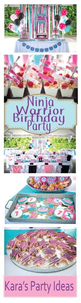 Karas Party Ideas American Ninja Warrior Themed Birthday Party