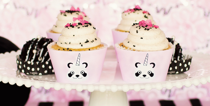 "Panda + Unicorn ""Pandacorn"" Birthday Party on Kara's Party Ideas 