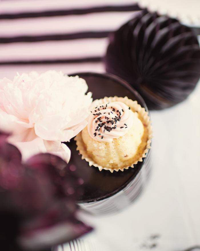 "Cupcake from a Panda + Unicorn ""Pandacorn"" Birthday Party on Kara's Party Ideas   KarasPartyIdeas.com (15)"