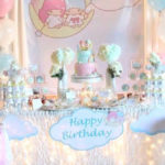 Pastel Little Star Birthday Party on Kara's Party Ideas   KarasPartyIdeas.com (3)