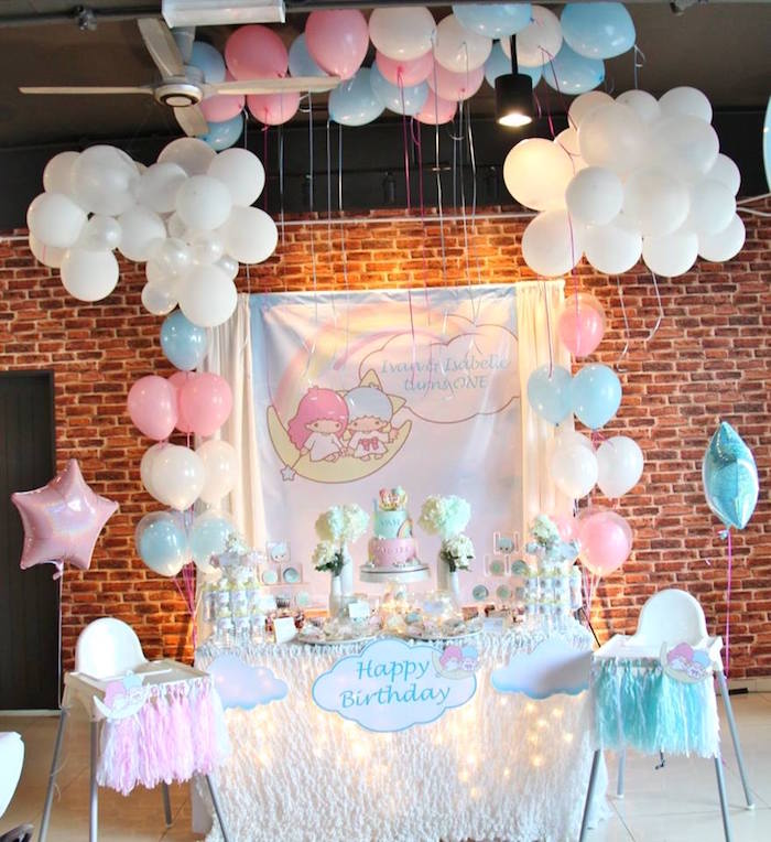 Pastel Little Star Birthday Party on Kara's Party Ideas | KarasPartyIdeas.com (21)