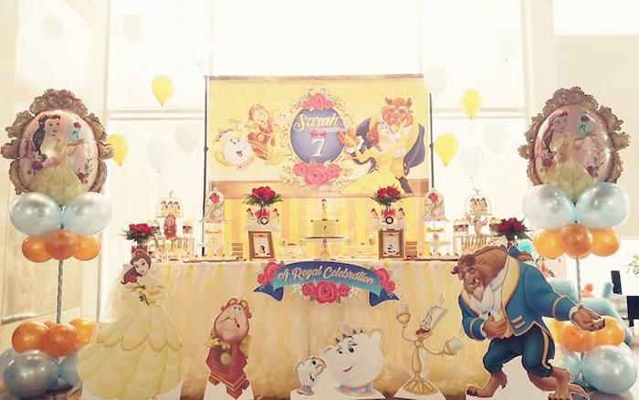 Royal Beauty and the Beast Birthday Party on Kara's Party Ideas | KarasPartyIdeas.com (11)