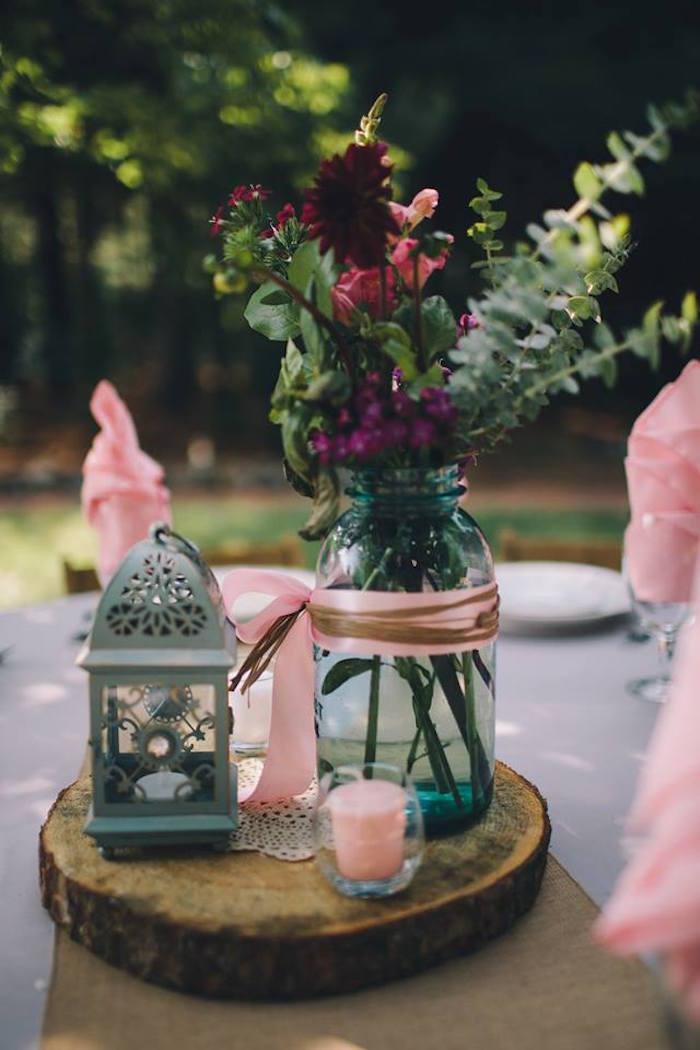 Rustic Blush Barn Wedding on Kara's Party Ideas | KarasPartyIdeas.com (24)