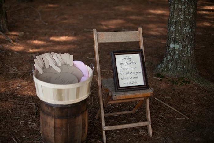 Rustic Blush Barn Wedding on Kara's Party Ideas | KarasPartyIdeas.com (23)