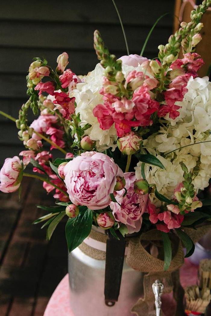 Rustic Blush Barn Wedding on Kara's Party Ideas | KarasPartyIdeas.com (17)