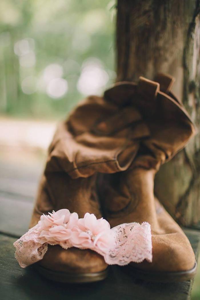 Rustic Blush Barn Wedding on Kara's Party Ideas | KarasPartyIdeas.com (14)