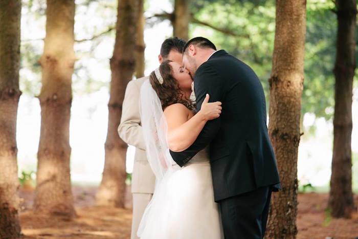 Rustic Blush Barn Wedding on Kara's Party Ideas | KarasPartyIdeas.com (11)