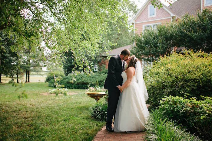 Rustic Blush Barn Wedding on Kara's Party Ideas | KarasPartyIdeas.com (5)