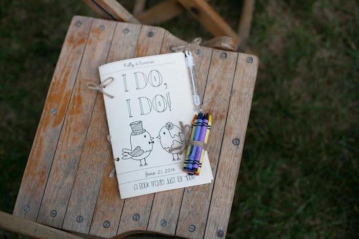 Custom coloring book from a Rustic Blush Barn Wedding on Kara's Party Ideas | KarasPartyIdeas.com (31)