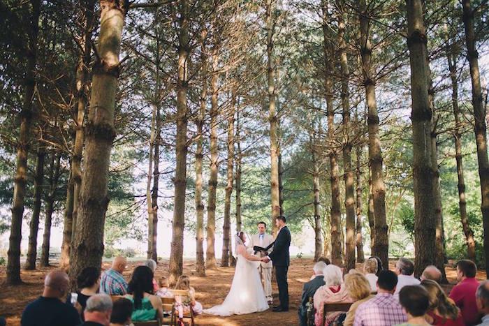 Rustic Blush Barn Wedding on Kara's Party Ideas | KarasPartyIdeas.com (28)