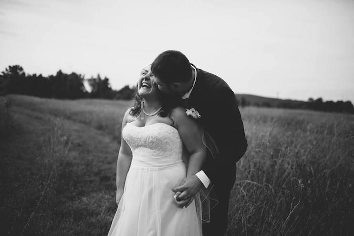 Rustic Blush Barn Wedding on Kara's Party Ideas | KarasPartyIdeas.com (26)