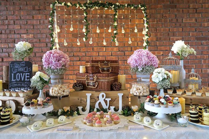 Rustic Romantic Wedding on Kara's Party Ideas | KarasPartyIdeas.com (10)