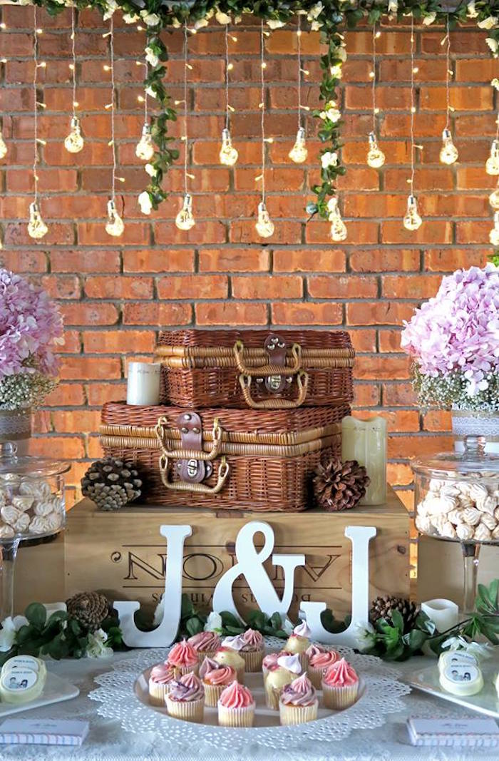 Karas Party Ideas Rustic Romantic Wedding Karas Party Ideas