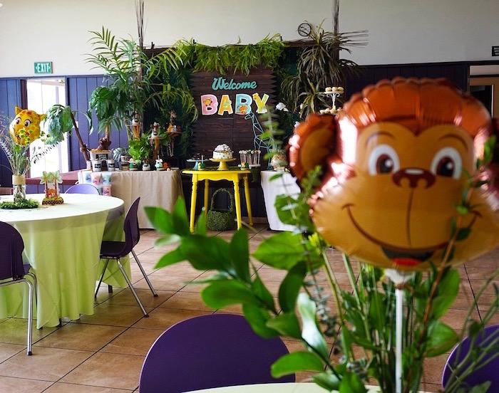 Safari Animal Baby Shower on Kara's Party Ideas | KarasPartyIdeas.com (4)