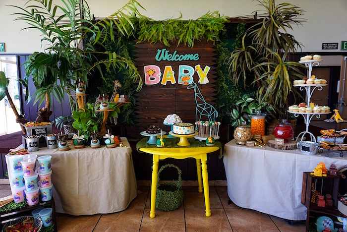 Safari Animal Baby Shower on Kara's Party Ideas | KarasPartyIdeas.com (11)