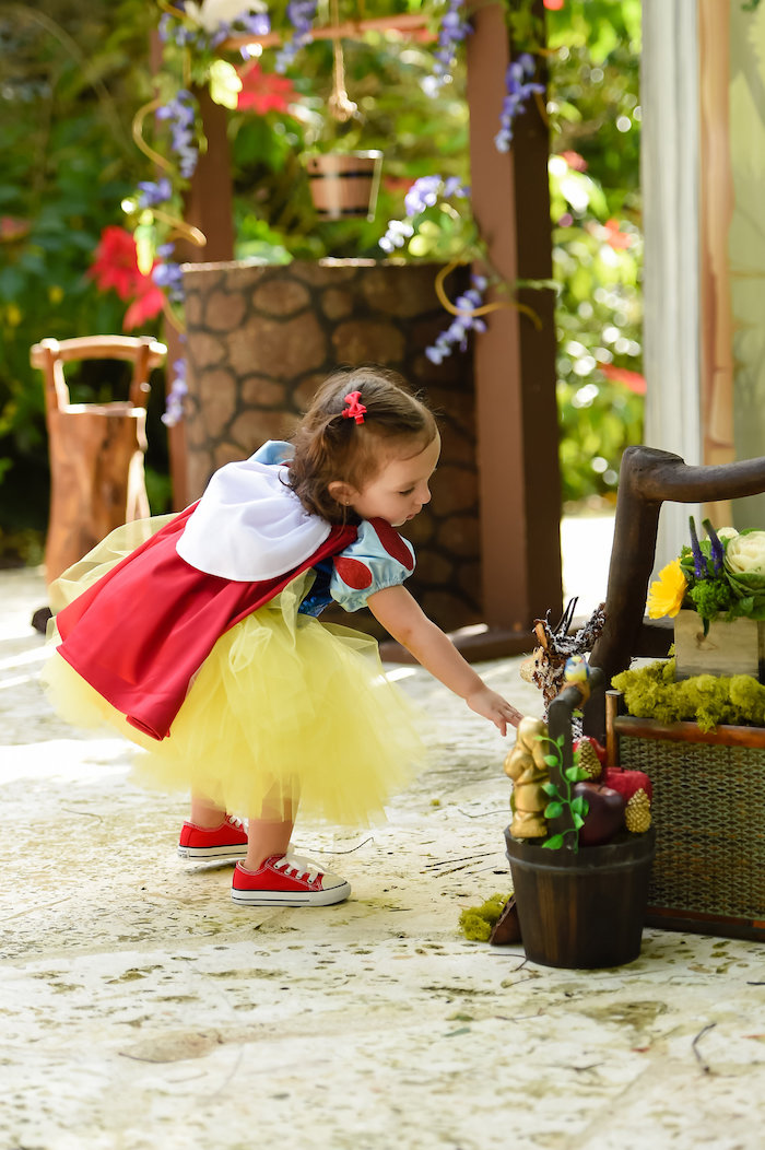 Snow White Fairytale Birthday Party on Kara's Party Ideas | KarasPartyIdeas.com (43)