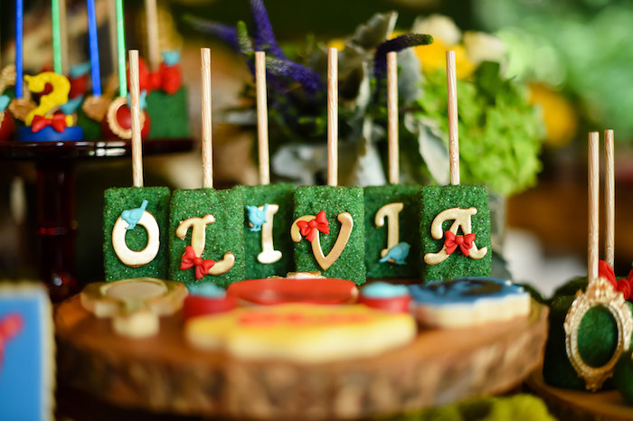 Snow White Fairytale Birthday Party on Kara's Party Ideas | KarasPartyIdeas.com (33)