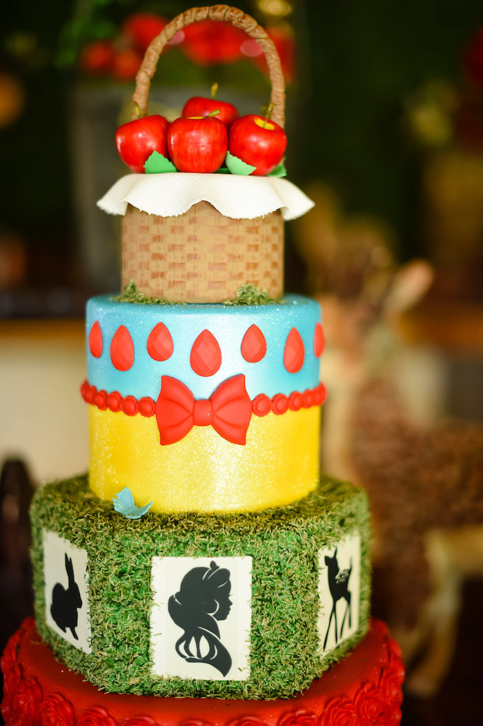 Snow White Fairytale Birthday Party on Kara's Party Ideas | KarasPartyIdeas.com (29)