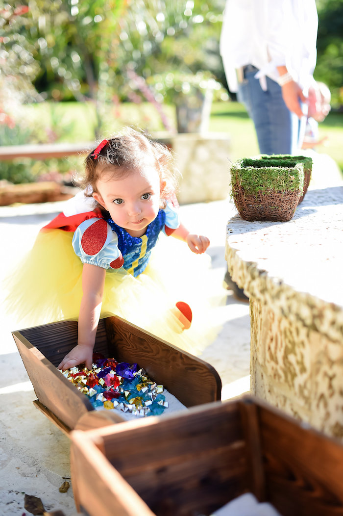 Snow White Fairytale Birthday Party on Kara's Party Ideas | KarasPartyIdeas.com (9)