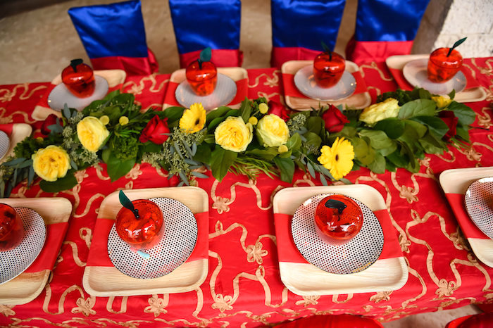 Snow White Fairytale Birthday Party on Kara's Party Ideas | KarasPartyIdeas.com (50)