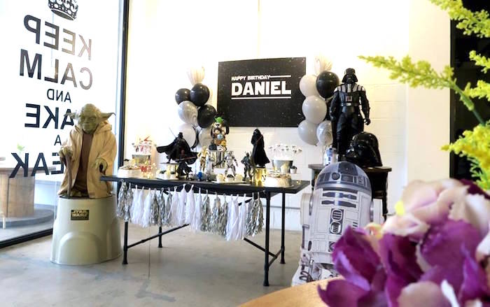 Star Wars Birthday Party on Kara's Party Ideas | KarasPartyIdeas.com (3)