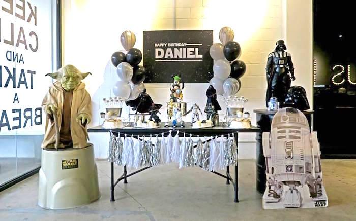 Star Wars Birthday Party on Kara's Party Ideas | KarasPartyIdeas.com (11)