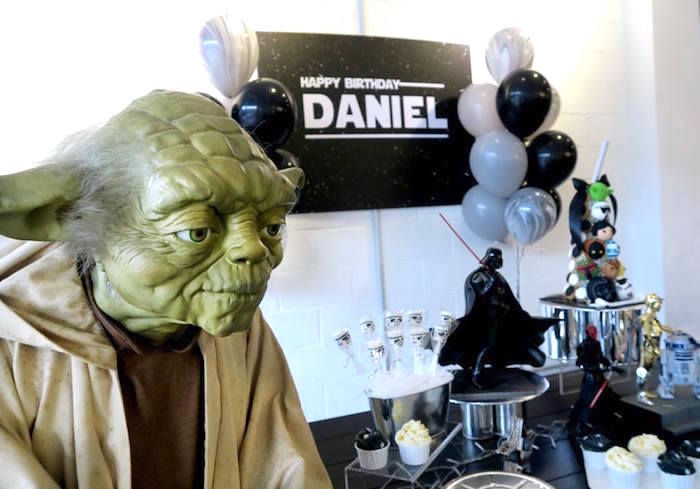 Star Wars Birthday Party on Kara's Party Ideas | KarasPartyIdeas.com (10)