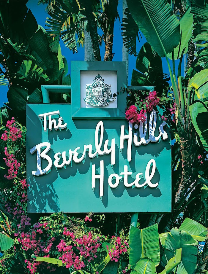 Beverly Hills Hotel Signage from The Beverly Hills Hotel Inspired Favorite Things Party on Kara's Party Ideas | KarasPartyIdeas.com (36)